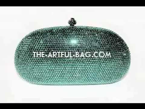 96d75f23e Swarovski Crystal Emerald Green Clutch Bag from www.the-artful-bag.com