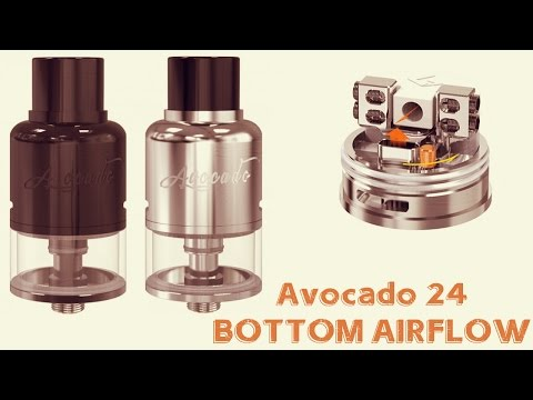 NEW Avocado 24 Bottom Airflow Tank By Geek Vape! First Look!