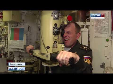 Подлодки и авиация провели учения в Чёрном море