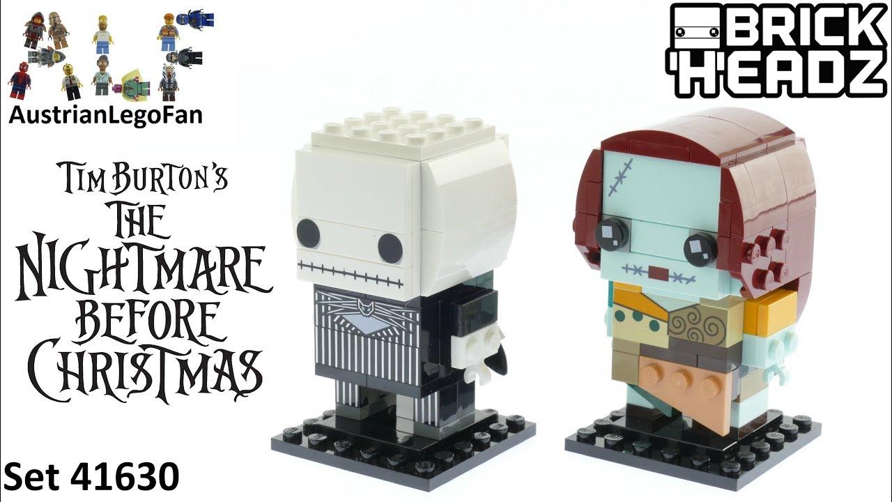 Lego Brickheadz 41630 Jack Skellington & Sally Speed Build - The ...