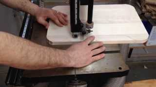 In this video I show you how to make a tray for a high chair. The high chair came from an old friend but was missing the tray and...