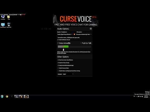 Curse voice Download Tutorial/Review