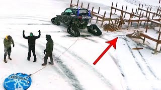 EXTREME SLEDDING ENDS BAD!!
