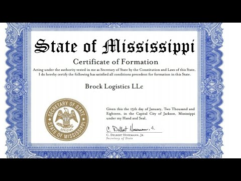 How to Form A Trucking  LLC Business in minutes Do It Yourself (Step 1)