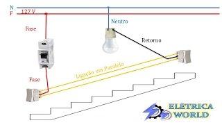 Como ligar Interruptor  Paralelo ou Interruptor Three Way