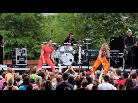 Karmin Performs Acapella at Indiana State Fair 2013