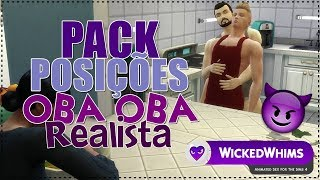📦 PACK POSIÇÕES OBA-OBA REALISTA! (WICKED WHINS) - The Sims 4