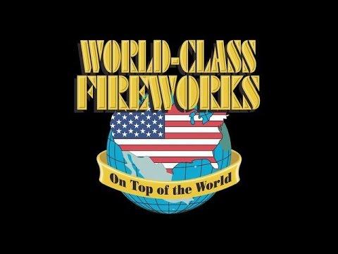 American Fireworks 2015 Demo: Part 4 - World Class Fireworks (500 ...