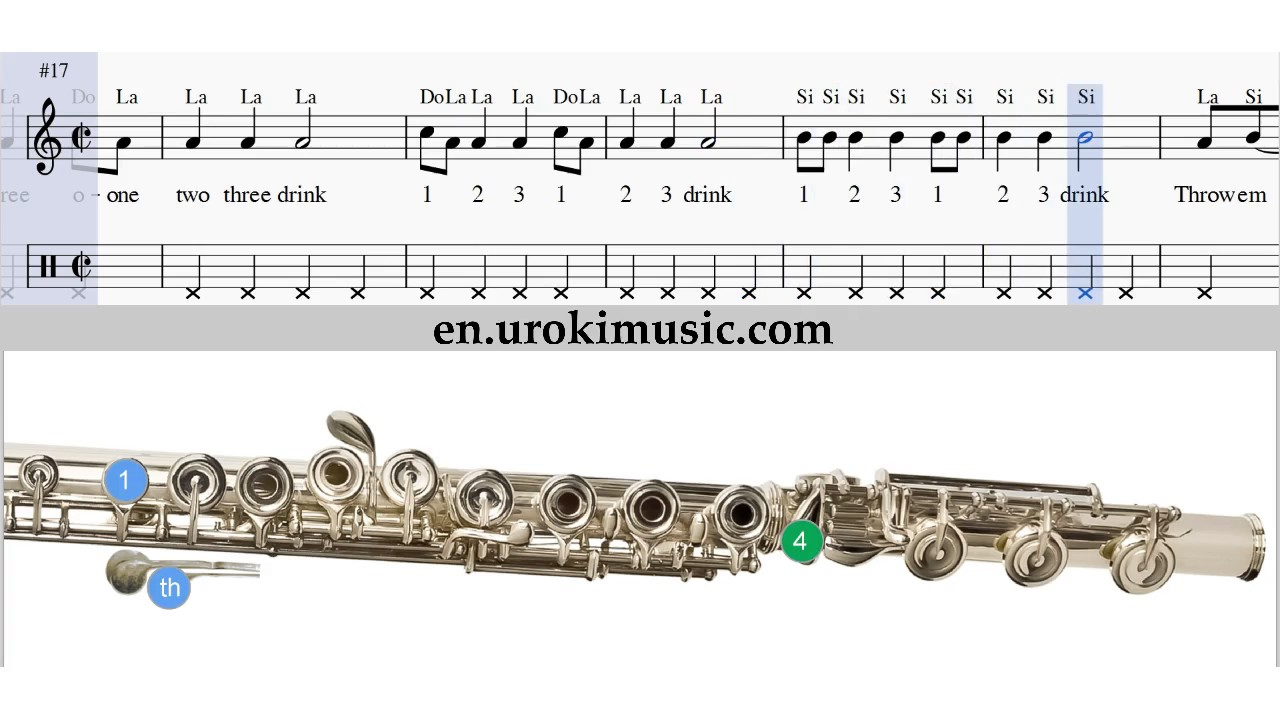 How to play flute sia chandelier melody school learn class course how to play flute sia chandelier melody school learn class course tutorial sheet music tabs arubaitofo Gallery