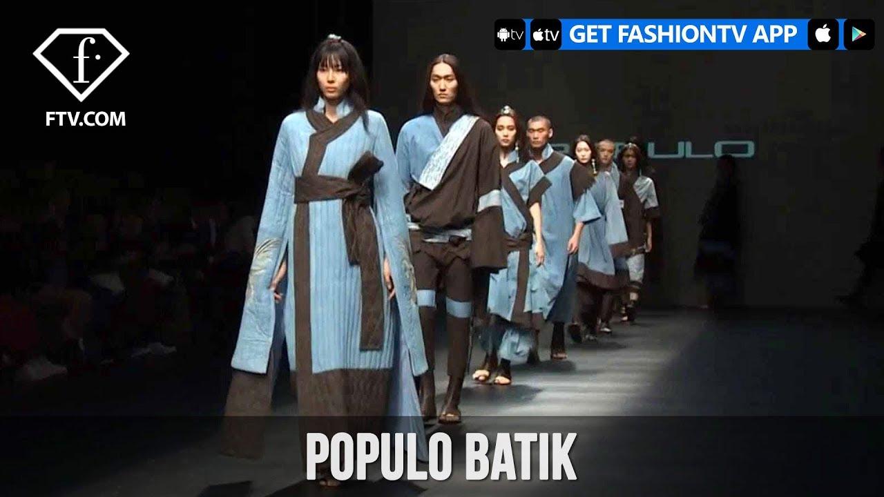 Tokyo Fashion Week Spring/Summer 2018 - POPULO Batik | FashionTV