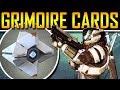 Destiny News - Grimoire Cards Explained!