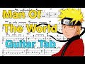 Learn How to Play Man of the World Fingerstyle Acoustic Guitar Lesson TABS (Naruto Shippuden.Ost)