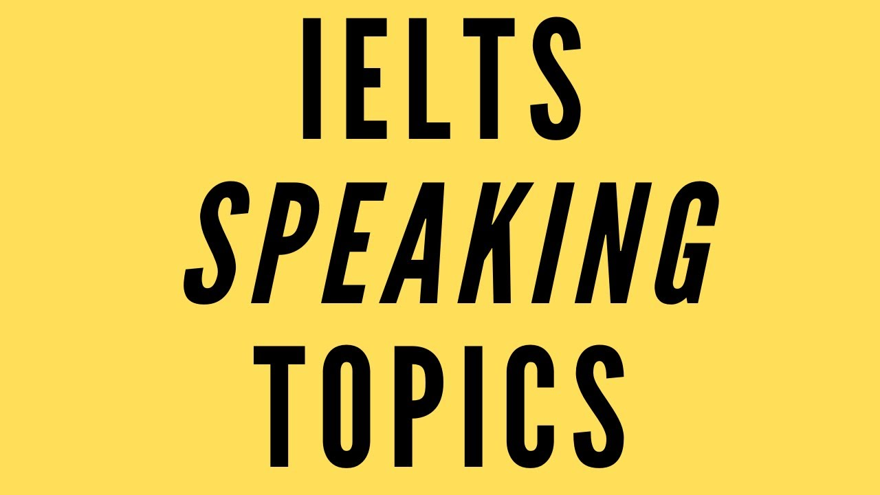 ielts speaking topics New question topics are added every now and then here are two recent examples that students have asked me about: describe a picnic or a.
