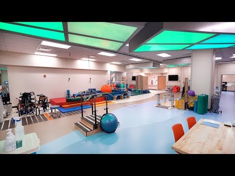 Tour the NEW Inpatient Pediatric Rehabilitation Unit & Therapy Gym