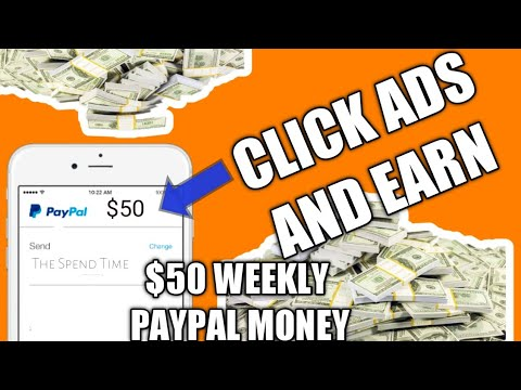 Click Ads And Earn | Easy $50 Paypal Money