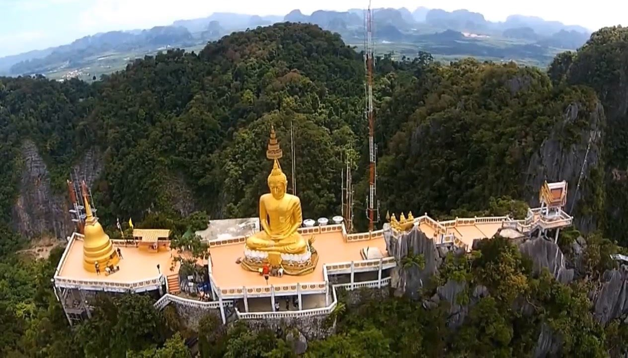 Храм Тхам Суа (Wat Tham Suea или Tiger Cave Temple), Krabi ...
