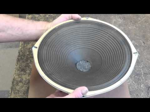 Vintage Speaker Cone Renovation and Repair without Re ConingVintage Speaker Cone Renovation and Repair without Re Coning   YouTube. Restoring Old Speaker Cabinets. Home Design Ideas