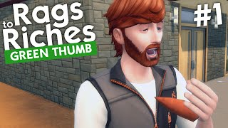 The Sims 4 - Rags to Riches: Green Thumb (Part 1)