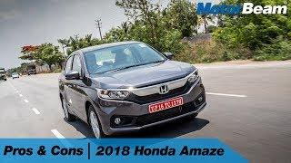 Honda Amaze - Pros & Cons | MotorBeam