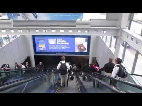 Chicago O'hare International Airport, Terminal 1 - May 12, 2015