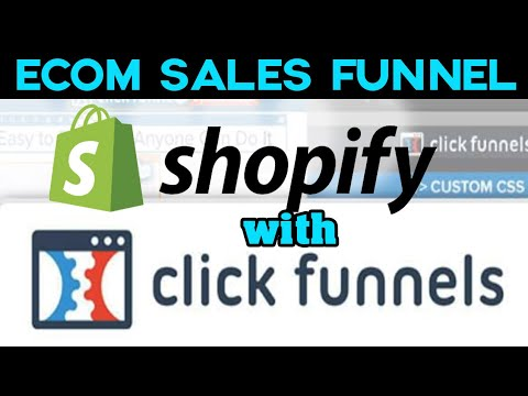 how to use clickfunnels with shopify training