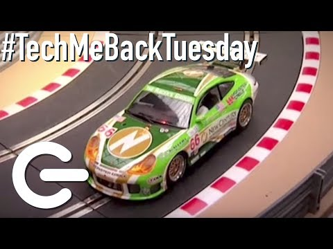 Scalextric Cars – The Gadget Show #TechMeBackTuesday