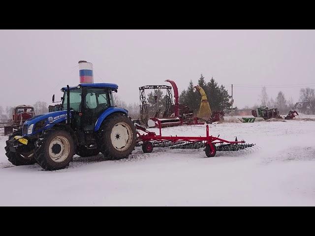 ПОСЛЕДНИЙ ДЕНЬ МАРТА 2020. Ооо Дик Калужская область. Зима пришла опять....  #дикфарм #dikfarm