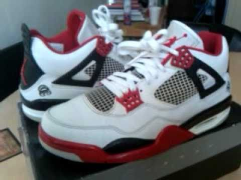 official store classic styles professional sale Airjordan 4 mars(brooklyn)(2006)sold - YouTube
