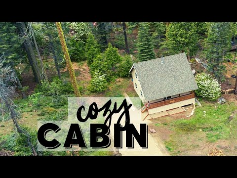 cozy-cabin-tour-rustic-decor-|-vacation-rental-in-shaver-lake,-ca-|-airbnb-house-travel-vlog