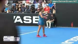 Barbora Strycova - Su Wei Hsieh | Quarterfinal ASB Classic Auckland WTA 2018