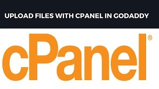 Upload files(website) with cpanel in Godaddy