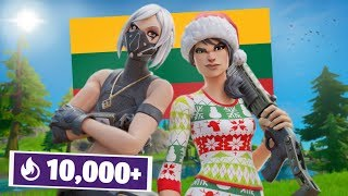 Lithuanian duo takes over Fortnite w/ RedRush