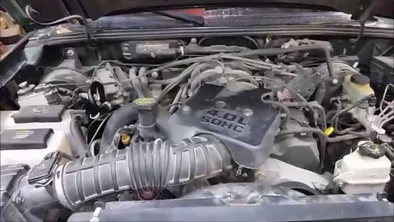 part1 ford 4 0l v6 sohc coolant leak find and repair how to youtube [ 1280 x 720 Pixel ]