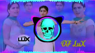Dj lux  || Sara Gaam Bole Se Haryanvi Dj Song Edm full vibration  Dance mix || feel this bass