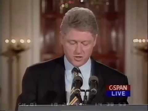 Bill Clinton on Virtues of North Korean Nuclear Deal - History Repeats Itself