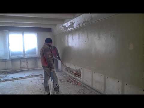 видео: Слом кирпичной стены кувалдой бюроуслугуфа.рф