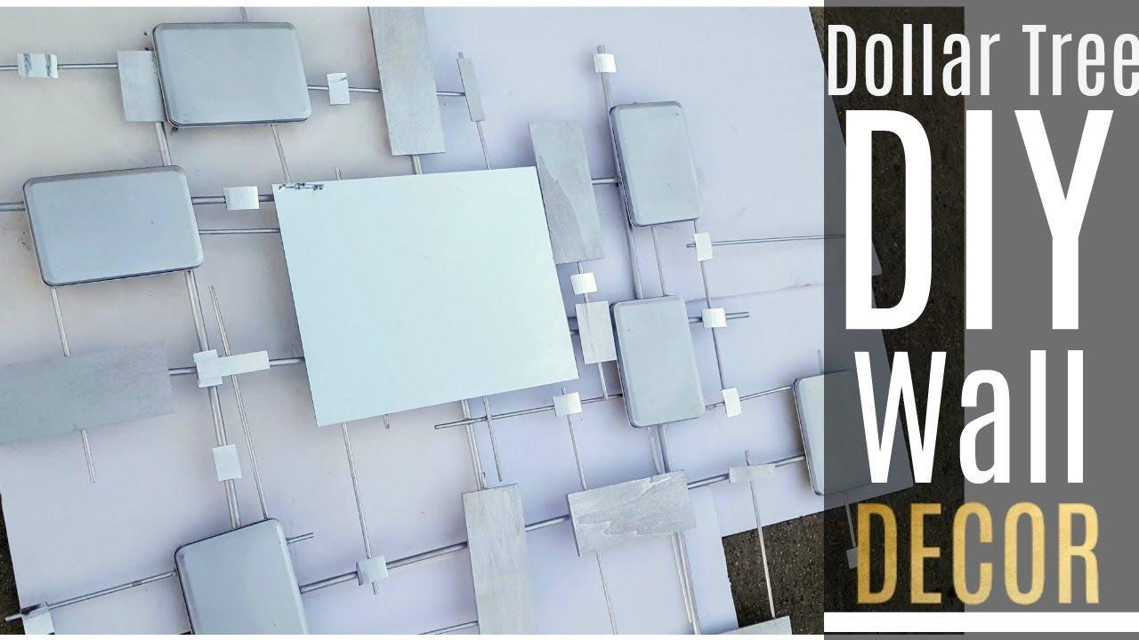 Diy Dollar Tree Designer Wall Decor Home