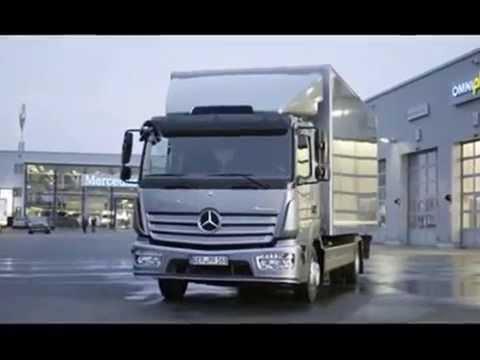 Mercedes Benz Atego 2015 Youtube