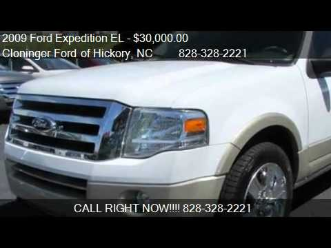2009 ford expedition el eddie bauer for sale in hickory n youtube. Cars Review. Best American Auto & Cars Review