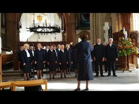 International Staff Songsters in Blackburn Cathedral