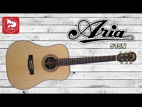 Акустическая гитара дредноут Aria-515 N
