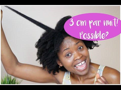Laisser pousser ses cheveux crepus