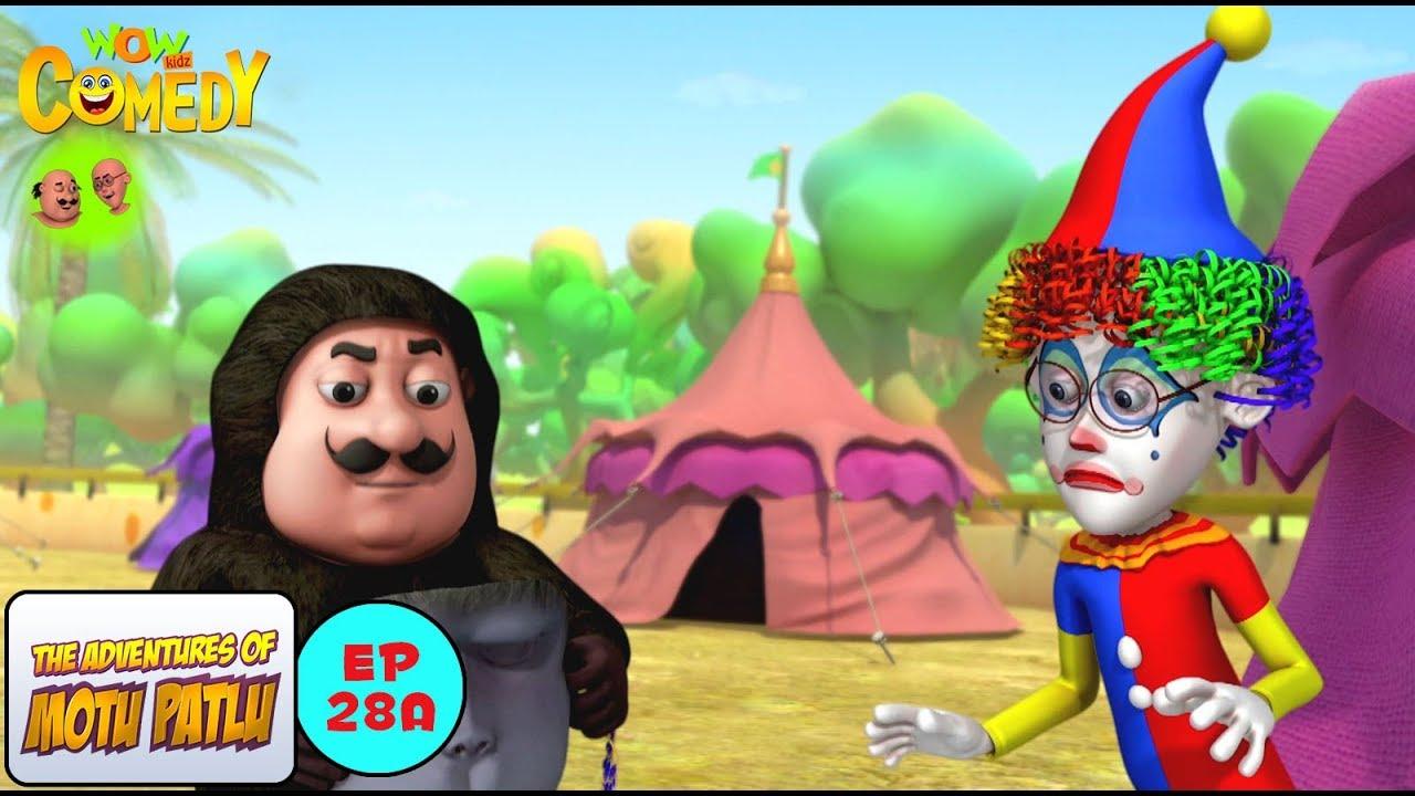 Circus Motu Patlu In Hindi 3d Animated Cartoon Series For Kids