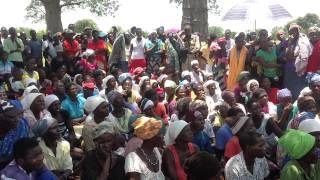 President Tsvangirai addresses Mbire flood victims in Mashonaland Central