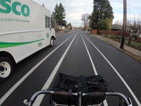 Denver Avenue bike lanes
