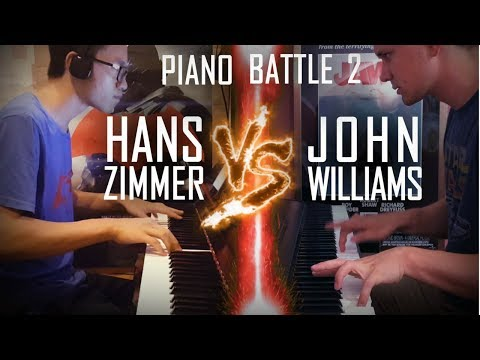 John Williams vs  Hans Zimmer  - Piano Battle Mashup/Medley #2 ft. Samuel Fu