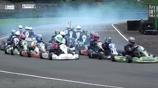 Super 1 Karting 2015: Rd 9, Shenington Part 5 Jnr TKM | British Karting Championship Racing