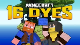 Minecraft - 16 DYES SKY ISLAND MAP (5)(Minecraft: Dumb and Dumber)