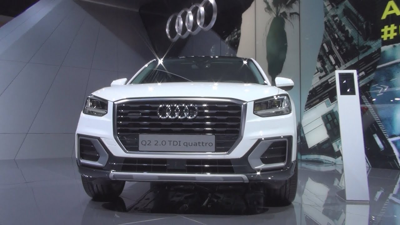 audi q2 design 2 0 tdi quattro s tronic 140 kw 2016 exterior and interior in 3d youtube. Black Bedroom Furniture Sets. Home Design Ideas