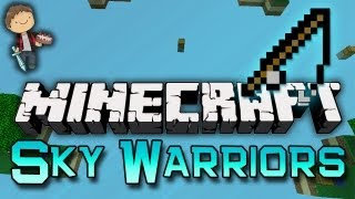 Minecraft: SKYBLOCK WARRIORS 3v3v3 Mini-Game w/Mitch & Friends!